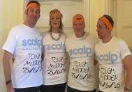 Colin, Lorri, Ritchie and Matthew Complete The Tough Mudder Challenge for SCALP