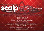 SCALP Charity Ball 2013 SAT 5 OCTOBER 2013