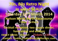SCALP Retro Fancy Dress Disco